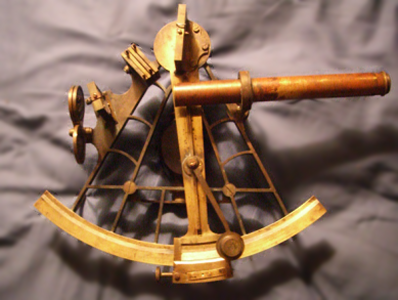 A vernier sextant - Frank Reed